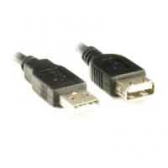 Cabo Extens Usb Machoxfemea 1,8Mts Pc-Usb1802 Preto Plus Cable